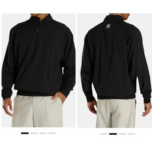 NWT Footjoy Perf Windshirt Embroidered Pullover